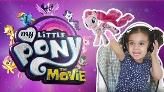 Little Girl Reacts to My Little Pony The Movie Trailer ❤ LuluZoom