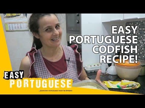 Portuguese recipes! How to cook traditional Portuguese codfish   Easy Portuguese 5 photo