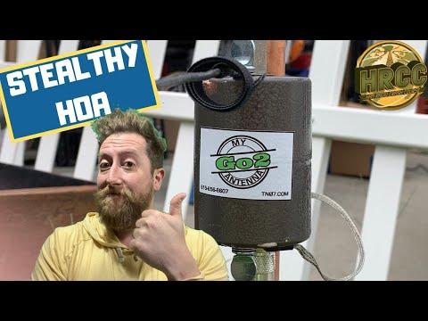 TN07 My Go2 Antenna, Stealthy HOA 80-6 Meter Ham Radio Antenna Review
