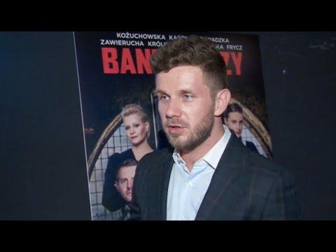 """Antek Królikowski o """"Banksterach"""": """"Mam satysfakcję, że udało nakręcić się ten film!"""" [Banksterzy]"""