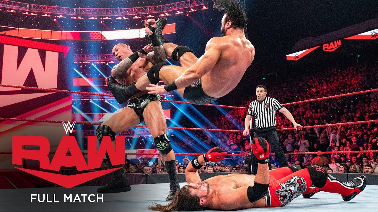 WWE - FULL MATCH - Drew McIntyre vs. Randy Orton vs. AJ Styles – Triple Threat Match: Raw, Jan. 13, 2020