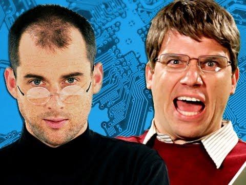 Steve Jobs vs Bill Gates. Epic Rap Battles of History Season 2 ...