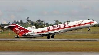 Avião cai minutos depois de decolagem, na Colômbia!
