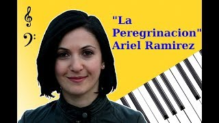 La Peregrinacion by Ariel Ramirez / Paul Mauriat - Alouette - Piano cover with free download sheets
