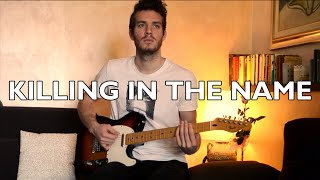 Killing In The Name - Rage Against The Machine (GUITAR SOLO COVER)