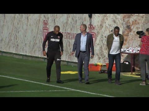 نادي موناكو لكرة القدم يستعد لمواجهة ستراسبورغ