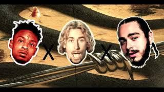 Post Malone - rockstar (feat. 21 Savage & Nickelback) (MASHUP/REMIX) Clean