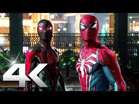 SPIDER-MAN 2 Trailer 4K (PS5)