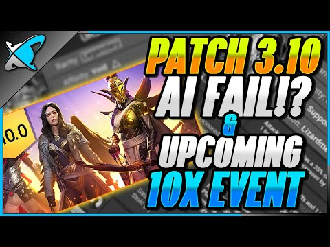 PATCH 3.10... Not Working (AI Fix) !? | Freeze & Burn 10X Event !! | RAID: Shadow Legends