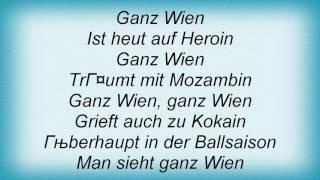 Falco - Ganz Wien Lyrics