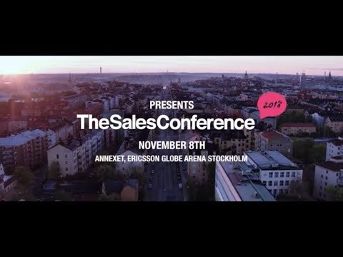 Scrive stolt huvudpartner till The Sales Conference 2018