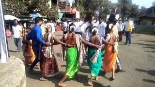 वारली संमेलन विक्रमगड/तारपा नृत्य/आदिवासी नृत्य कला