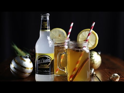 Hot Toddy Recipe with Apple Cider and Bourbon