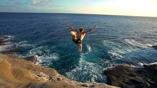 Cliff Jumping Hawaii 2016 - INSANE Dives!