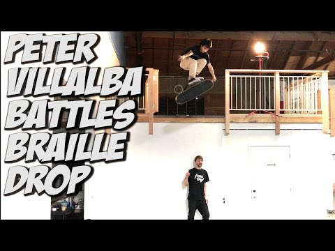 PETER VILLALBA V S  THE BRAILLE DROP !!! - A DAY WITH NKA -