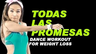 Todas Las Promesas - Dasoul | Dance Fitness | Zumba® | Dance Workout For Weight loss | Michelle Vo