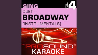 Think Of Me (Karaoke Instrumental Track) (In the Style of Phantom Of Opera)