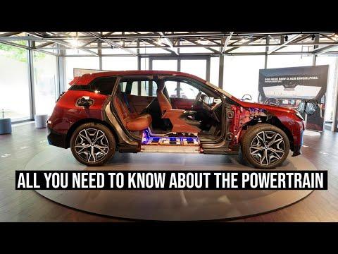 BMW iX Powertrain - Brand's Most Tech-Heavy Offering