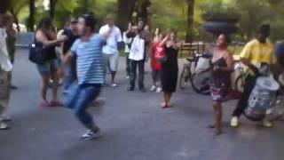 Georgian dance in Central Park