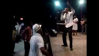 "Richie Stanisclaus ""Dig Deep"" live @ Fearless the Concert Grenada 2011"