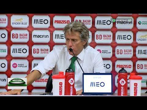 Pós Jogo Jorge Jesus - CD Aves x Sporting CP