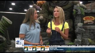 Amanda Live with Yellow Power Ranger Ciara Hanna -