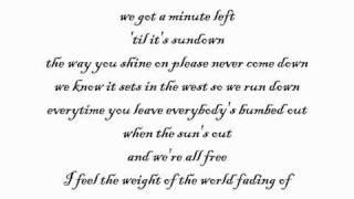 Madcon feat. Maad Moiselle-Outrun The Sun lyrics HQ