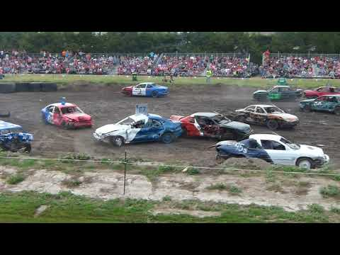 Buffalo County Demoltion Derby Old School Heat 1