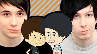 THE BRITISH ARE COMING [Ft. Dan and Phil] (Smosh Babies #27)