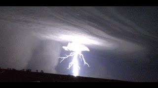 "Alien Lightning Outback Australia ""Thru the Windscreen of a truck"" 2013"