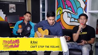RAN - Can't Stop The Feeling (JUSTIN TIMBERLAKE COVER LIVE) at Ruang Tengah Prambors