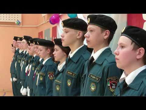 Юные кадеты отметили свой выпускной в Зеленце