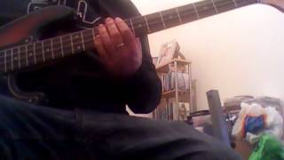 when the sun goes down bass cover
