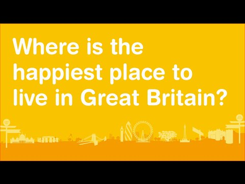 Take A Tour Of The Happiest Place To Live In Great Britain!