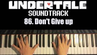 Undertale OST - 86. Don't Give up (Piano Cover by Amosdoll)