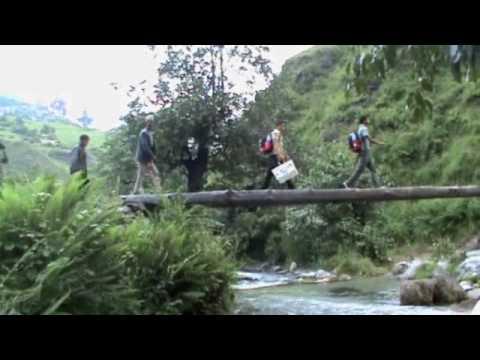 Reise nach Kotila in Nepal