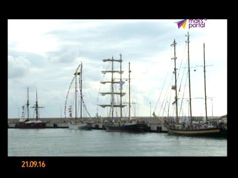 Самые быстроходные фрегаты планеты пришвартовались в порту Сочи