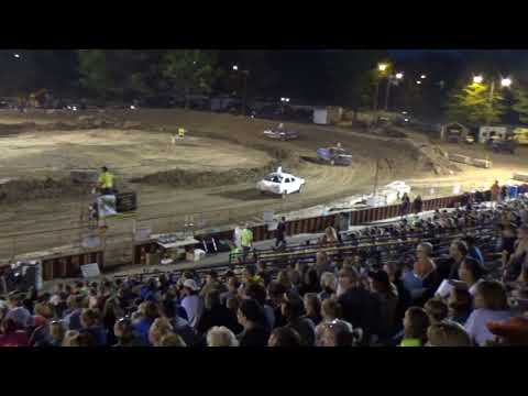 Ogemaw County Fair 2018 Bump and Run (stock) Feature (8-15-18)