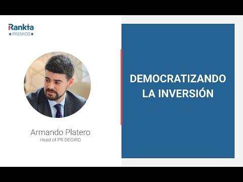 DEGIRO es uno de los brókers que ha revolucionado el mercado de intermediación financiera en Europa en los últimos años. Armando Platero, su representante para España nos cuenta en esta breve conferencia cuáles son las claves de su crecimiento y su filosofía empresarial.