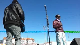 Irmãos verdade em aquecimento para o Desfile Carnaval Marinhais 2015
