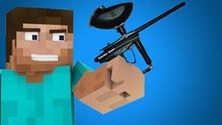Minecraft Paintball warfare : kill them all