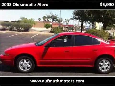 Used Cars Houma La >> 2003 Oldsmobile Alero Problems, Online Manuals and Repair ...