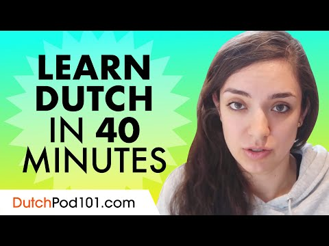Learn Language in 40 Minutes - ALL the Basics For Absolute Beginners photo