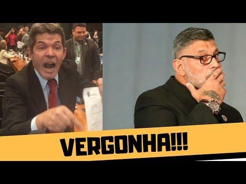 ALEXANDRE FROTA E DELEGADO WALDIR PASSAM VERGONHA