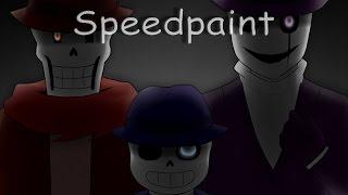 Mafiatale AU - Speedpaint