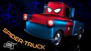 Spider-Truck or SPIDER-MAN: HOMECOMING - Cars 3 Teaser Trailer (mash-up)