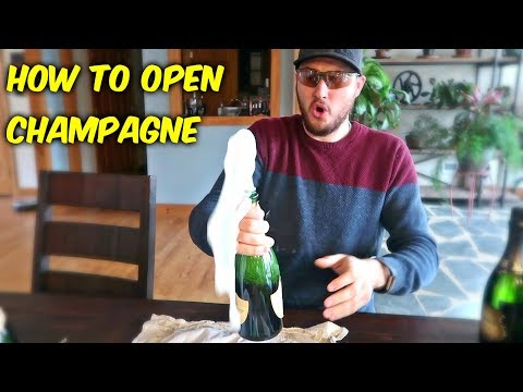 You've Been Opening Champagne Wrong!