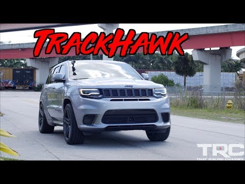 "Most Powerful SUV Ever""! We Launched the Piss out of a TrackHawk!"