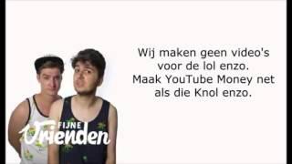 Fijne Vrienden - YouTube Money (Lyrics)