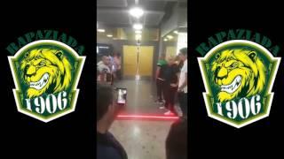 #Rapaziada1906 - Sporting CP chegada à Suiça I - 10 Julho 2017